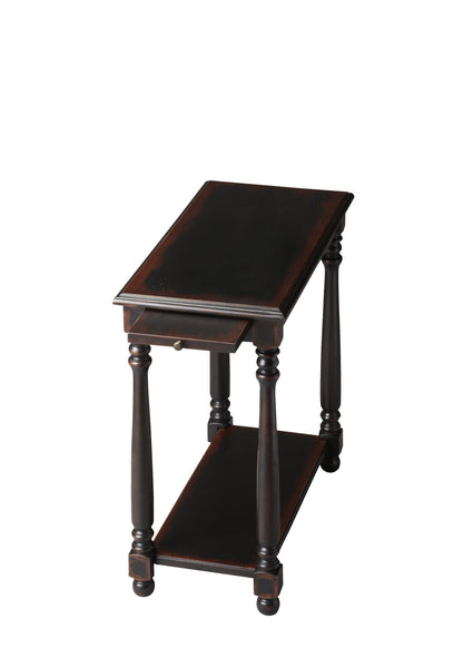 Devane Midnight Rose Chairside Table