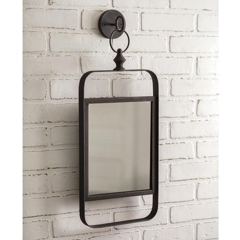 Industrial Wall Mounted Mirror