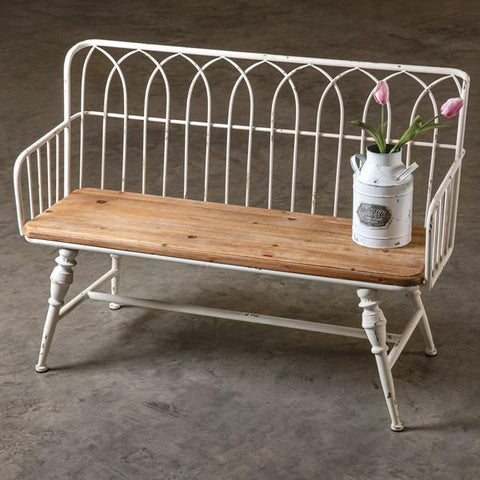 Metal Coatroom Bench
