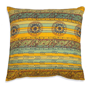 Indian Summer Cotton Euro Pillow