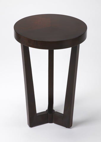 Aphra Merlot Accent Table