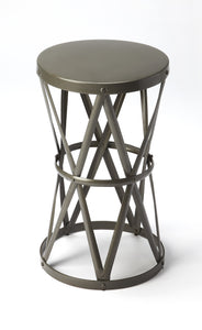 Empire Round Iron Accent Table