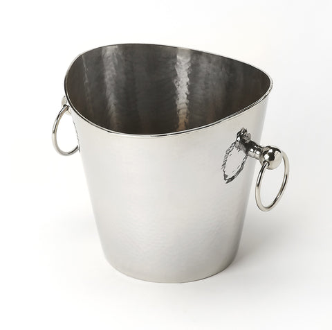 Mendocino Hammered Stainless Steel Wine Bucket