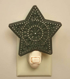 Punched Star Night Light - Box of 6
