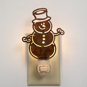 Snowman Night Light - Box of 4