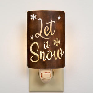 Let It Snow Night Light - Box of 4