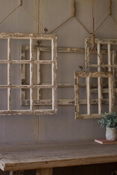 Set Of 4 Window Frame Wall Art