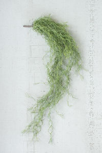 Set Of 6 Artificial Green Moss