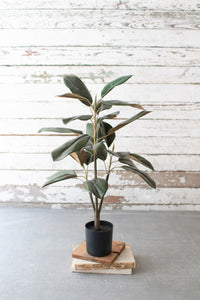 Artificial Potted Magnolia