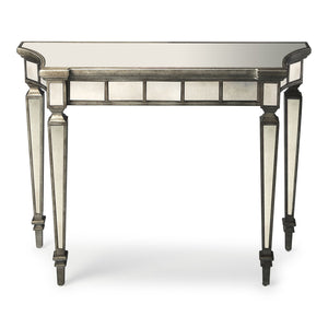 Garbo Mirrored Console Table