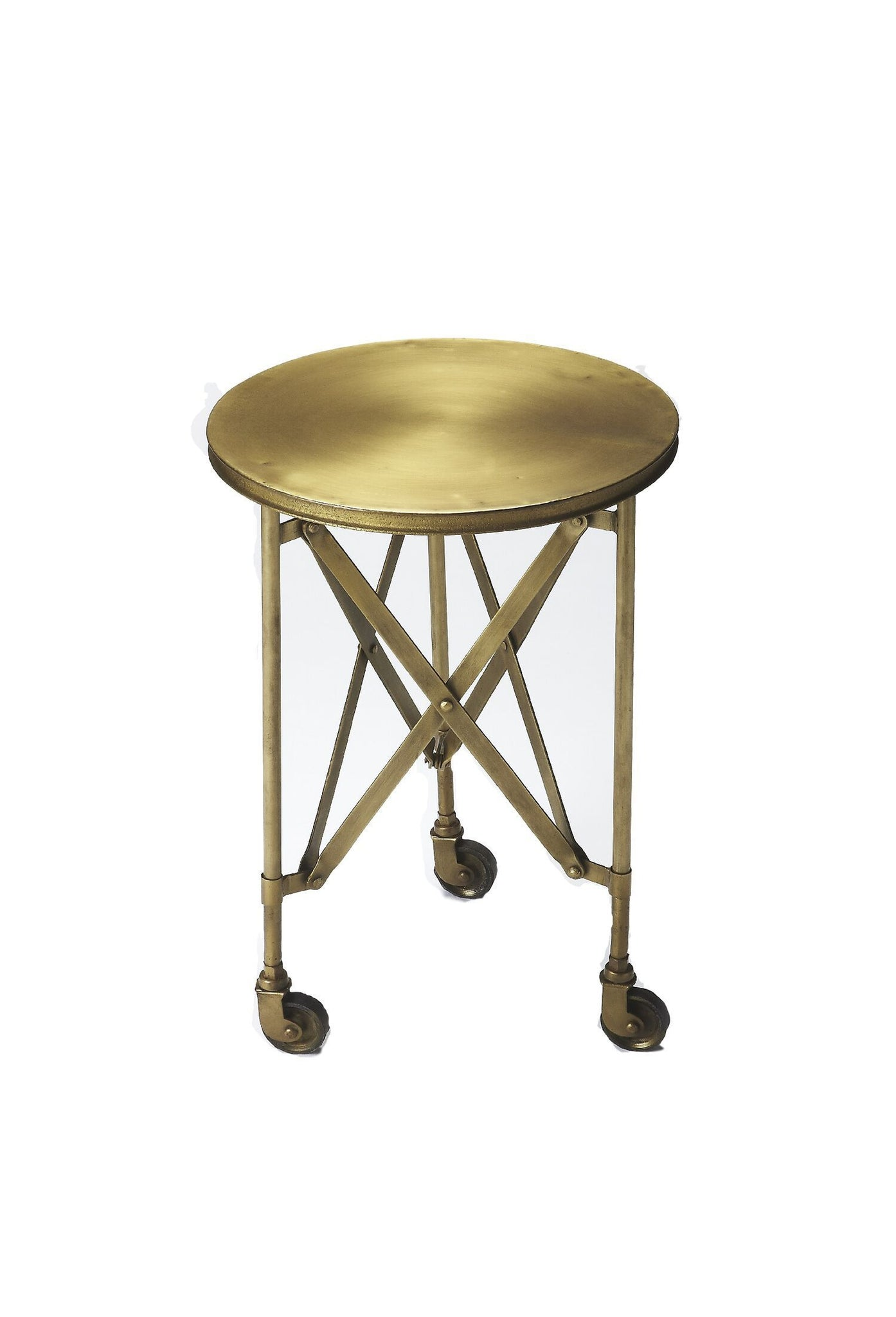 Costigan Antique Gold Accent Table