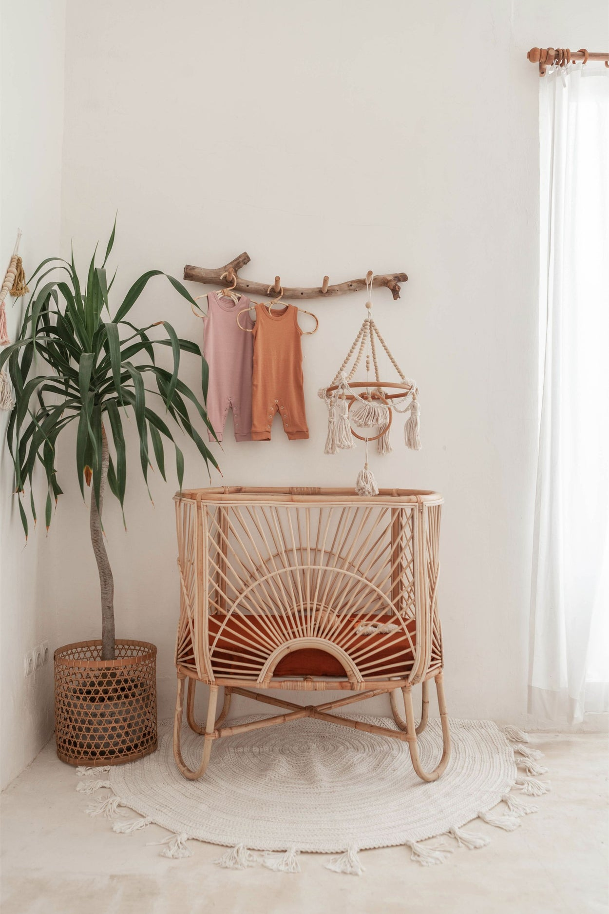 Traditional Rattan Hanger