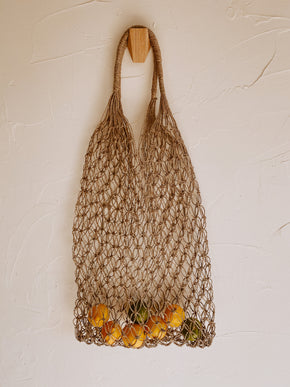 Natural Net Market Tote