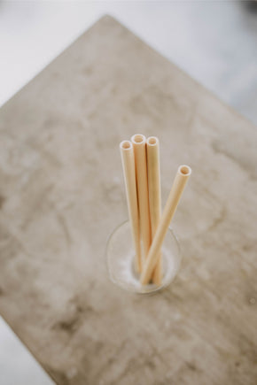 Sustainable Bamboo Straws with Cleaner