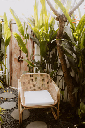Cane Lounge Chair