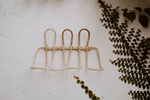 Ombak Rattan Wall Hook