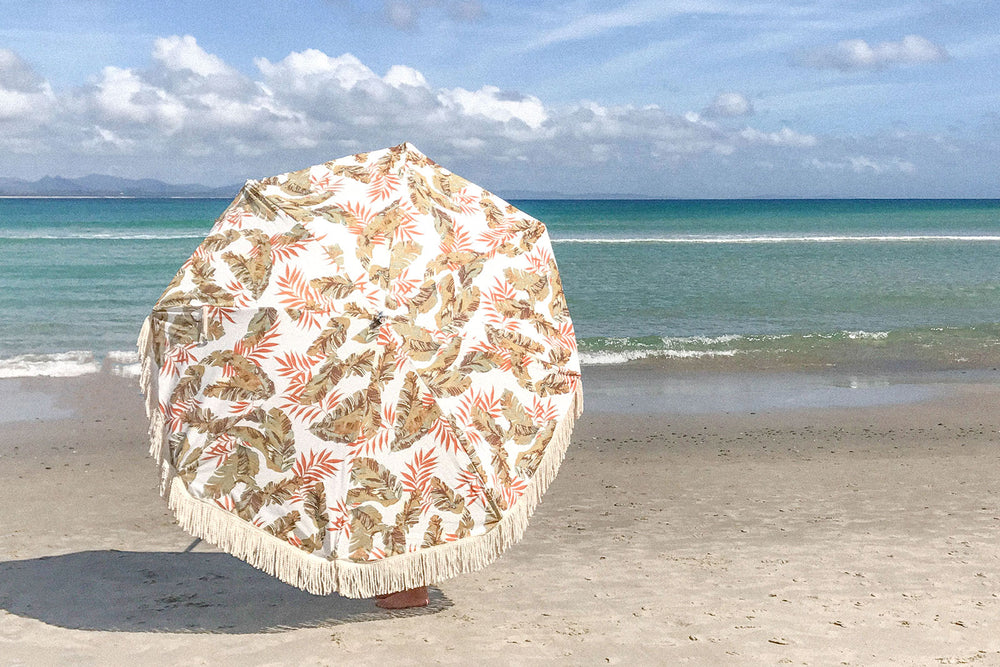 Bayleaf Beach Umbrella ☼ Sunday Supply Co.