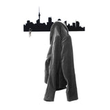 Auckland Skyline Coat Rack