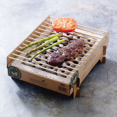 The CasusGrill - sustainable disposable BBQ