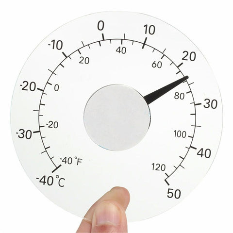 Outdoor Clear Thermometer