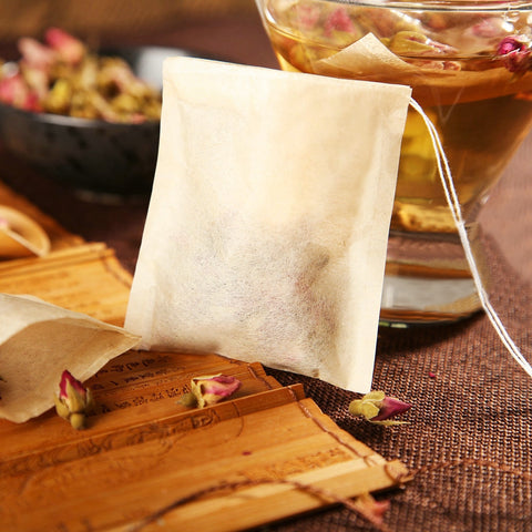 Make your own herbal tea bags