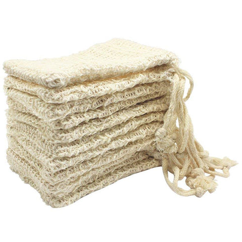 Sisal Soap Pouches