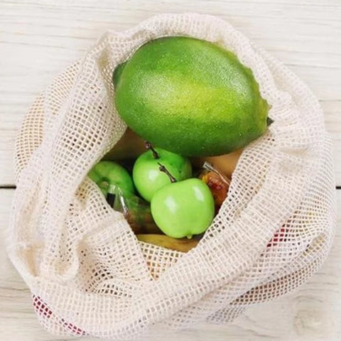Cotton Fruit and Vegetable bags
