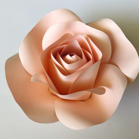 Extra Large Rose Center - Ann Neville Design