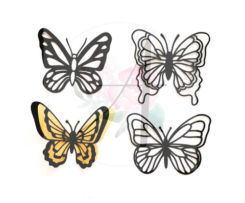 Butterfly Set 1 - Ann Neville Design