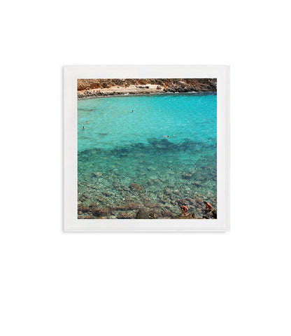 TURQUOISE WATER AND SWIMMERS // LAMPEDUSA, ITALY