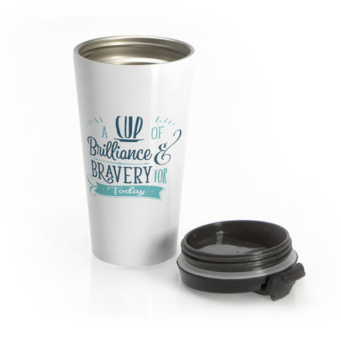 BRAVE Collection Stainless Steel Travel Mug