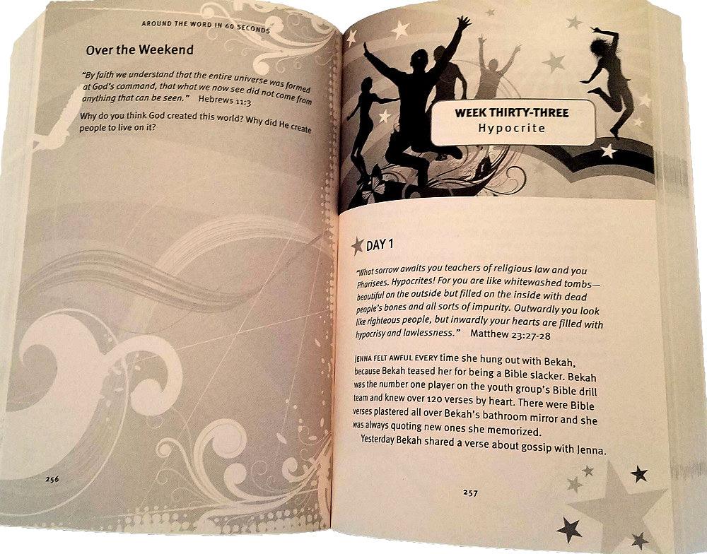 Around the Word in 60 Seconds Devotional Book