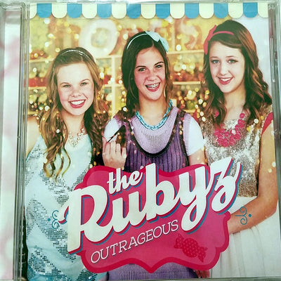 The Rubyz Outrageous CD Teen Pop Youth Ministry iShine Knect Christian Music