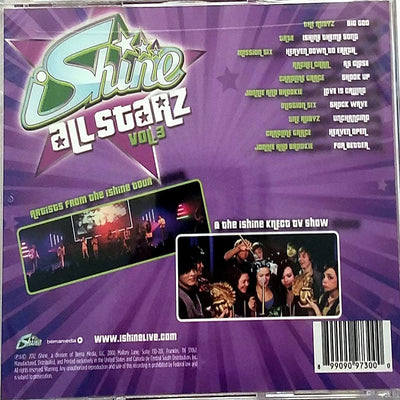 iShine Allstarz Volume #3 CD Teen Pop Youth Ministry Knect Christian Music