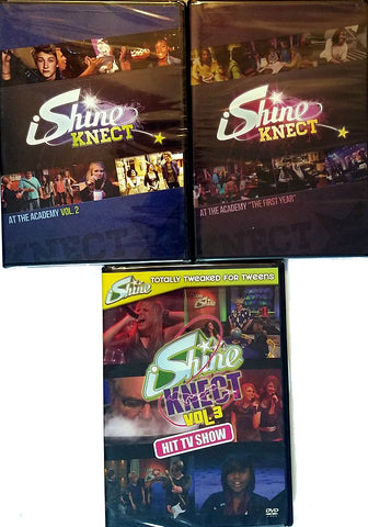 iShine Knect TV-Series DVD 3-Pack