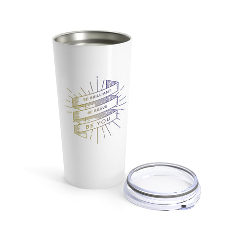 BRAVE Collection Stainless Steel Tumbler 20oz