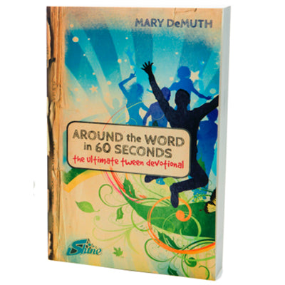 Around the Word in 60 Seconds iShine Devotional Teen Youth Ministry Book
