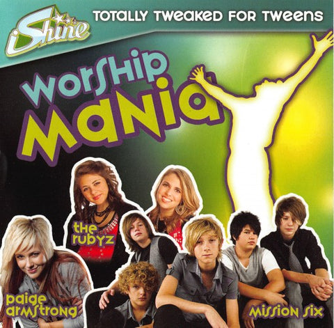 iShine Worship Mania CD