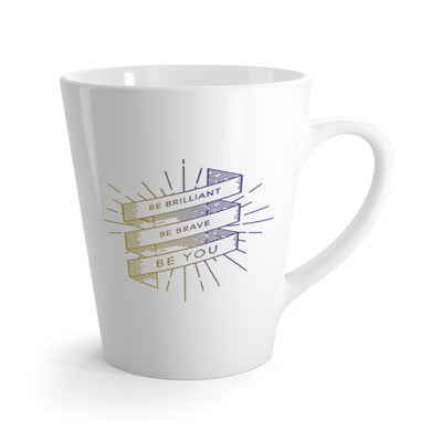 Brilliantly Brave 'Be Brilliant' Latte mug
