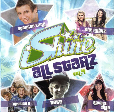 iShine Allstarz Volume #4 CD Teen Pop Youth Ministry Knect Christian Music