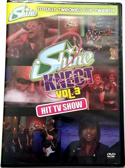 iShine Knect: At the Academy Vol 3 DVD Teen Youth Ministry TV Show Jamie Grace