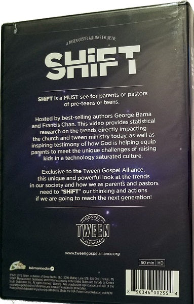 SHiFT Teen Ministry Resource (George Barna & Francis Chan) Exclusive
