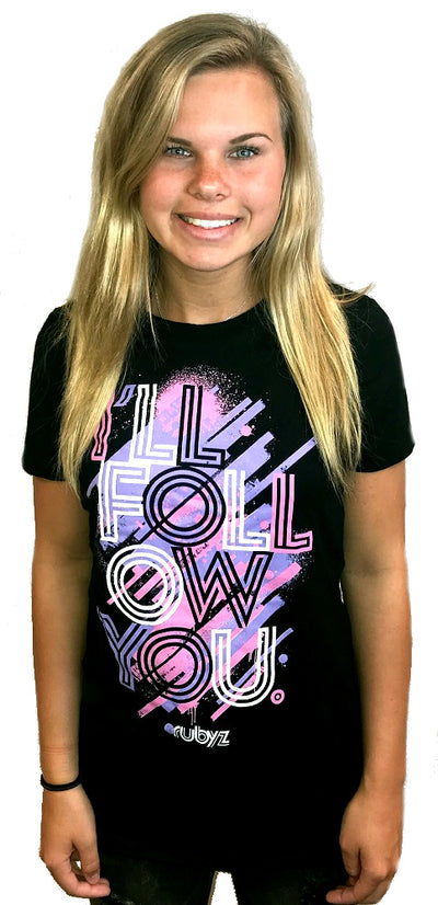 I'll Follow You Tshirt Official iShine Ministry Tour Event Christian Shirt The Rubyz
