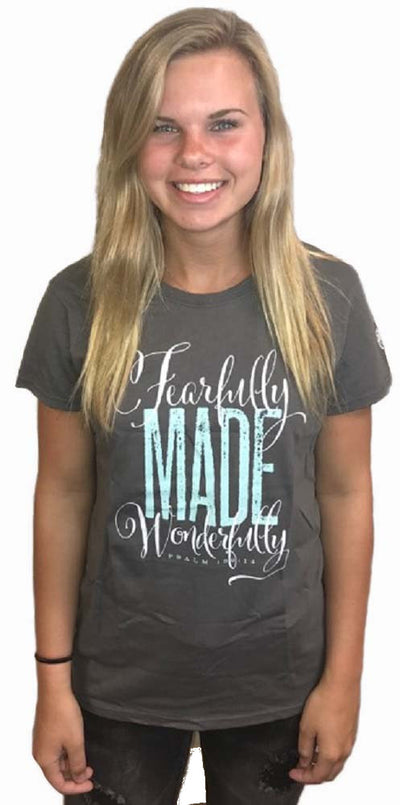 Fearfully and Wonderfully Made Youth Ministry Official Tour Event TShirt