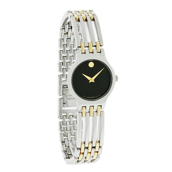 Movado Esperanza Quartz Two-Tone Stainless Steel Watch 0600456