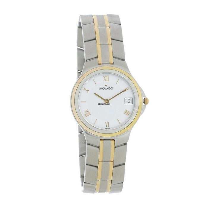 Movado Linio Quartz Two-Tone Stainless Steel Watch 0603533