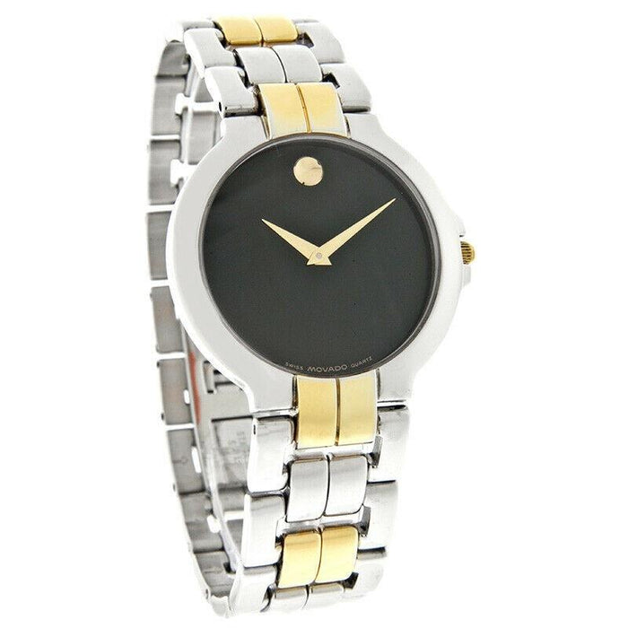 Movado Lancy Quartz Two-Tone Stainless Steel Watch 0604105