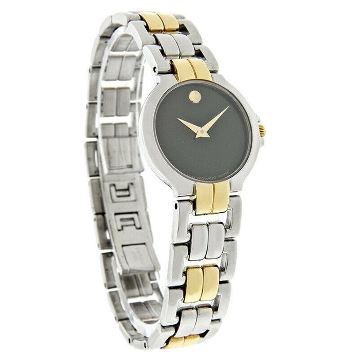 Movado Lancy Quartz Two-Tone Stainless Steel Watch 0604106