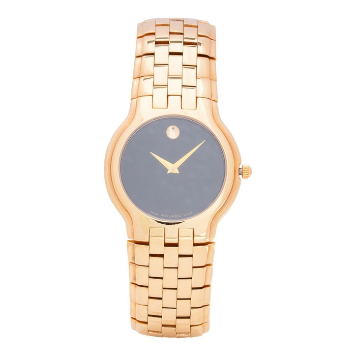 Movado Celestina Quartz Rose Gold-Tone Stainless Steel Watch 0604577