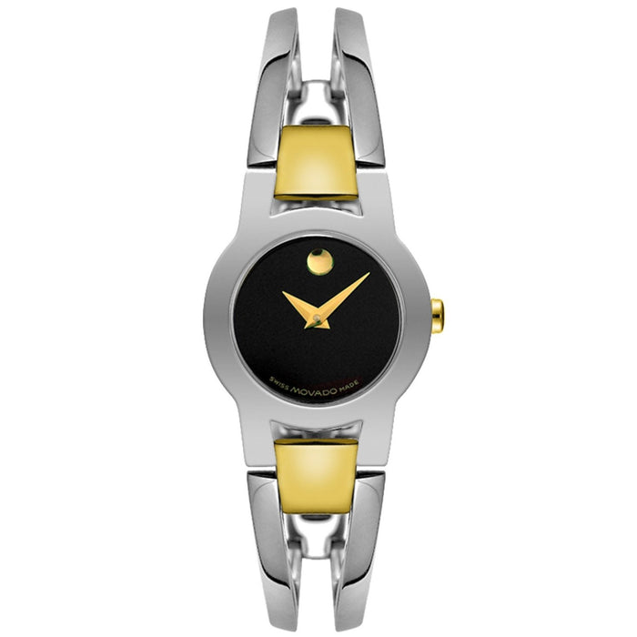 Movado Amorosa Quartz Stainless Steel Watch 0604760